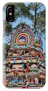 Colorful Temple, Valparai IPhone Case