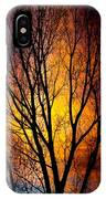 Colorful Tree Silhouettes IPhone Case