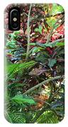 Colorful Tropical Plants IPhone Case