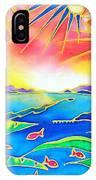 Colorful Tropics 12 IPhone Case