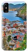 Colorful Vernazza From Behind IPhone Case