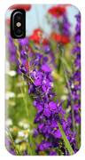 Colorful Wild Flowers Spring Scene IPhone Case