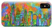 Coloring The Big Apple IPhone Case