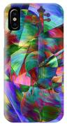 Colors And Geometries For A Violin  IPhone Case