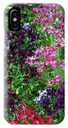 Colors In The Garden IPhone Case