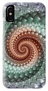Colors Of A Spiral IPhone Case