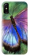 Colors Of Nature - Hunawihr Morpho IPhone Case