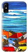 Colors Of St Martin IPhone Case