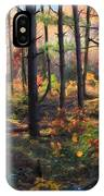 Colors Of The Forest IPhone Case