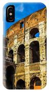Colosseum In Rome Italy IPhone Case