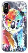 Colourful Koala IPhone Case