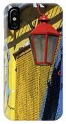 Colourful Lamps La Boca Buenos Aires IPhone Case