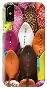Colourful Morroccan Slipper IPhone Case