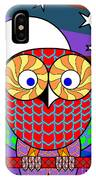 Colourful Owl IPhone Case