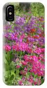 Colourful Primula Candelabra At Wisley Gardens Surrey IPhone Case