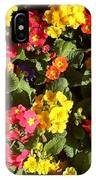 Colourful Spring Flowers IPhone Case