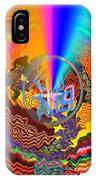 Colourful Swirl Of Goodluck IPhone Case