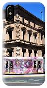 Colourful Tram At Old Treasury Building IPhone Case