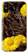 Coltsfoot Ring IPhone Case
