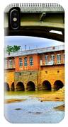 Columbia Canal At Gervais Street Bridge IPhone Case by Lisa Wooten