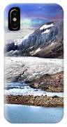 Columbia Ice Field And Athabaska Glacier IPhone Case