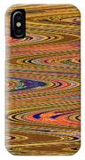 Columbia River Abstract #8045wpsws IPhone Case