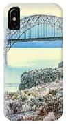 Columbia River Vantage Bridge IPhone Case
