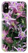 Columbine Splendor IPhone Case