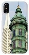 Columbus Avenue - San Francisco, California IPhone Case