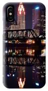 Columbus Ohio Reflecting On The River IPhone Case