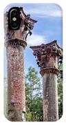 Columns Of Windsor Ruins IPhone Case