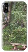 Come Sit With Me Awhile IPhone Case