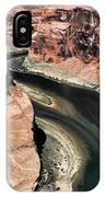 Coming Around Horseshoe Bend Page Arizona Colorado River  IPhone Case