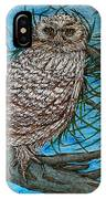 Coming Into Her Wisdom IPhone Case