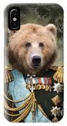 Commander Bear IPhone Case