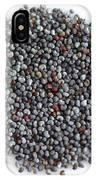 Commercial Poppy Seeds IPhone Case