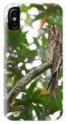 Common Potoo Costa Rica IPhone Case