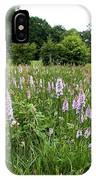 Common Spotted Orchids IPhone Case