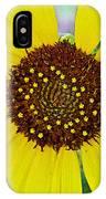 Common Sunflower In Northwest North Dakota IPhone Case