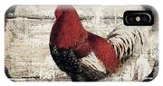 Compagne IIi Rooster Farm IPhone Case