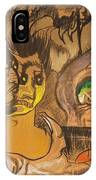 Composition Green Eye IPhone Case