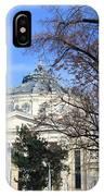 concert hall in Bucharest, Romania IPhone Case
