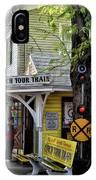 Conch Tour Train Stop IPhone Case