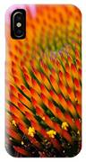 Cone Flower Closeup IPhone Case