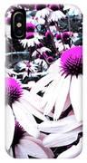 Cone Flower Delight IPhone X Case
