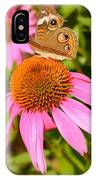 Cone Flower Visitor IPhone Case