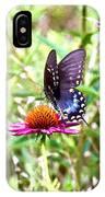Coneflower Companion IPhone Case