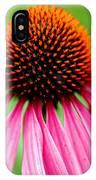 Coneflower Macro IPhone Case