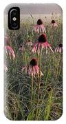 Coneflowers At Dawn IPhone Case