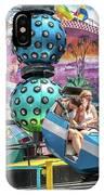 Coney Island Amusement Ride IPhone Case